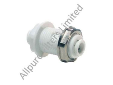 Bulkhead Connector  from Allpure Filters - European Supplier of Filters & Plumbing Fittings.
