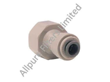 Female Adaptor BSP Thread Flat End  from Allpure Filters - European Supplier of Filters & Plumbing Fittings.