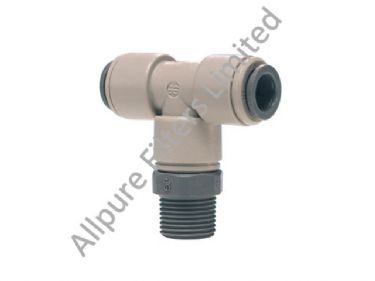 Swivel Branch Tee BSPT Thread  from Allpure Filters - European Supplier of Filters & Plumbing Fittings.
