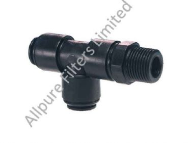 Swivel Male Run Tee BSPT Thread  from Allpure Filters - European Supplier of Filters & Plumbing Fittings.