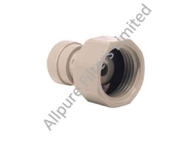 Tap Adaptor BSP Thread Flat End  from Allpure Filters - European Supplier of Filters & Plumbing Fittings.