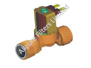 Threaded Push Fit Valve   from Allpure Filters - European Supplier of Filters & Plumbing Fittings.
